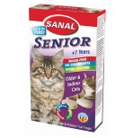 SANAL Senior Lecithin 100 таб./50 г для пожилых кошек