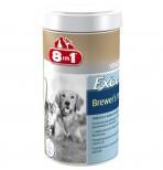 8in1 Пивные дрожжи EXСEL Brewers Yeast 140 табл./100 ml для собак и кошек