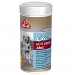8in1 Мультивитамины д/взрослых собак 70 табл./250 ml