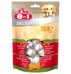 8в1 Delights Bone XS/7.5см (21 шт. в пакете) жевательная косточка