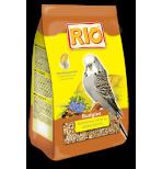 RIO. Корм для волнистых попугайчиков. Рацион в период линьки 500г