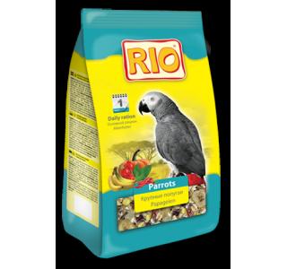 RIO. Корм для крупных попугаев. Основной рацион 500г