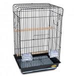 830A Клетка для птиц, эмаль, 520*410*780мм
