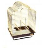6113G-K Клетка для птиц, золото Triol