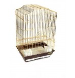 6112G-K Клетка для птиц, золото, 465*360*710мм