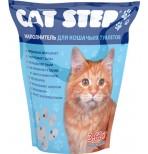 Cat Step Силикагель 15,2 л наполнитель  для кошачьих туалетов