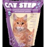 Cat Step Силикагель 3,8л наполнитель мелкие гранулы